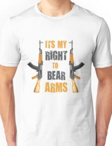 right to bear arms Unisex T-Shirt