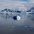 Reflecting on Antarctica 070 by Karl David Hill