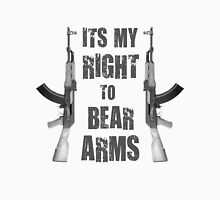 right to bear arms bw Unisex T-Shirt