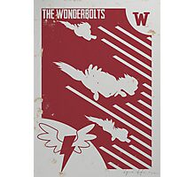 The Wonderbolts! Photographic Print