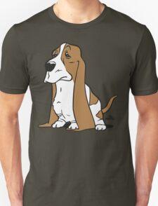 Basset cartoon dog T-Shirt