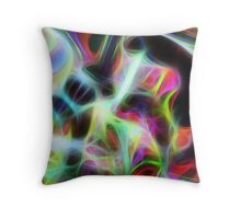 Seagal Abstract Throw Pillow