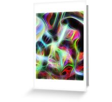 Seagal Abstract Greeting Card