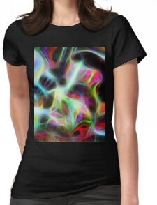 Seagal Abstract Womens Fitted T-Shirt
