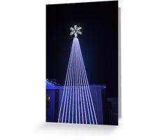 Lazer lights Greeting Card