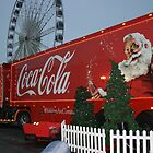Coca cola truck stop by Debby Chadwick