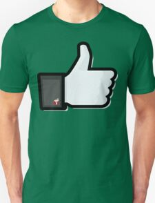 FACEBOOK X GHOSTBUSTERS (GB2) Unisex T-Shirt
