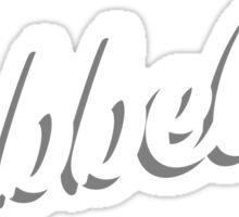 Bubbeleh! Handlettered Yiddish Sticker