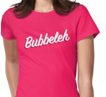 Bubbeleh! Handlettered Yiddish Womens Fitted T-Shirt