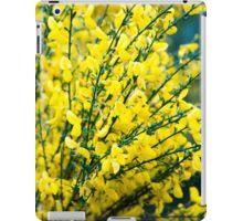 New Zealand Yellow Flowers iPad Case/Skin