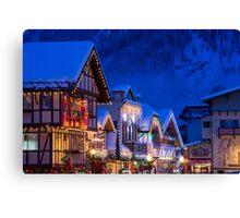 Christmas in Leavenworth Canvas Print