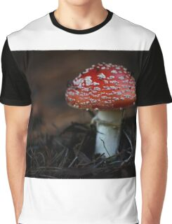 Red Cap  Graphic T-Shirt