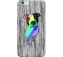 Big head, big heart - pretty rainbows! iPhone Case/Skin