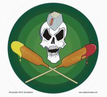 skull & crossdogs by mightywombat