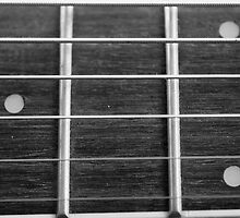 Guitar Neck & Frets by Haz Preena