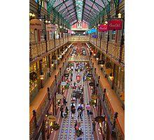 Strand Arcade, Sydney at Christmas Time Photographic Print