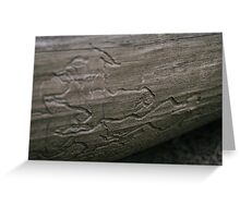 Ant Trails Greeting Card