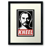 Obey Zod Framed Print