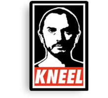 Obey Zod Canvas Print