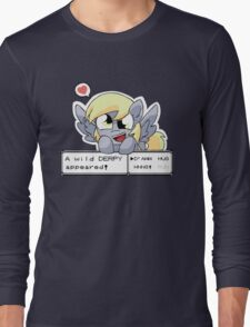 A Wild Derpy Appeared! Long Sleeve T-Shirt