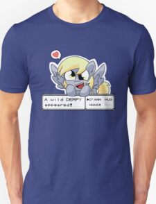A Wild Derpy Appeared! Unisex T-Shirt