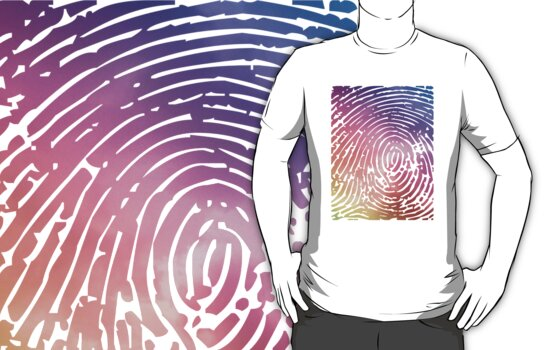 Rainbow Fingerprint. by LewisJamesMuzzy