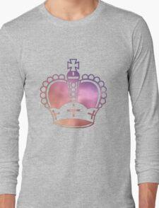Rainbow Crown Long Sleeve T-Shirt