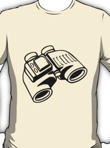 Binoculars. T-Shirt