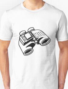 Binoculars. Unisex T-Shirt