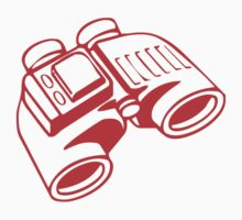 Red Binoculars by LewisJamesMuzzy