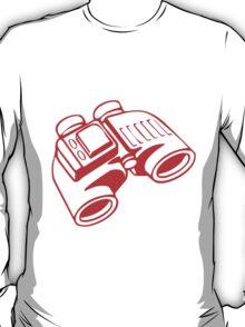 Red Binoculars T-Shirt