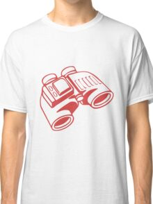 Red Binoculars Classic T-Shirt
