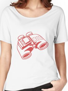 Red Binoculars Women's Relaxed Fit T-Shirt