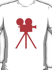 Red Tripod. T-Shirt