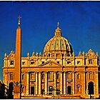 Saint Peter's Basilica by LaRoach