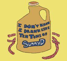 Ten Tons of Sunny D Kids Tee