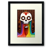 Colors of the dead Framed Print