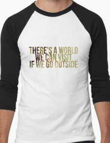 Outisde Men's Baseball ¾ T-Shirt