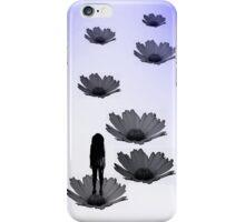 Flower path iPhone Case/Skin