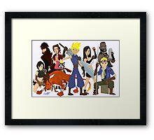 Final Fantasy 7: Complete Framed Print