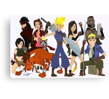 Final Fantasy 7: Complete Canvas Print