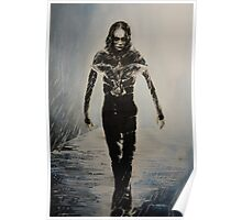 Eric Draven - The Crow Poster