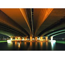 under the narrows.  perth, western australia Photographic Print