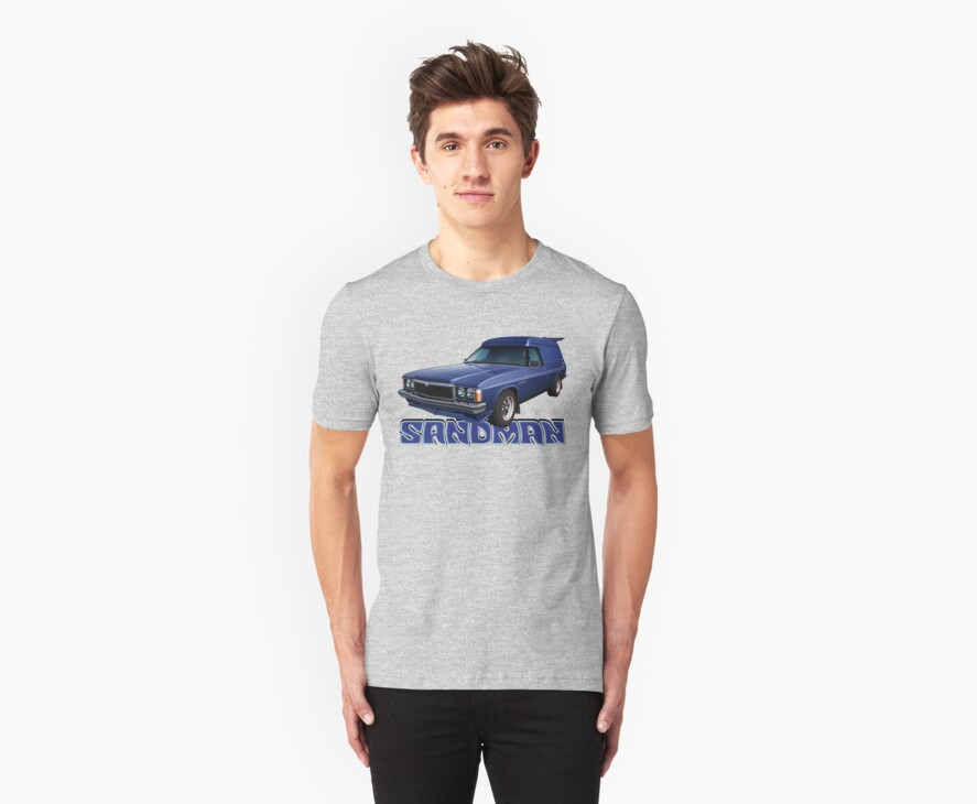 HZ Holden Sandman Panel Van - Windsor Blue by tshirtgarage