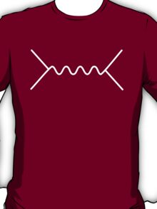 Feynman Diagram - White T-Shirt