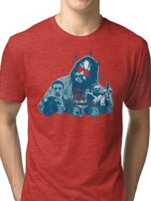 Big lebowski Collage Tri-blend T-Shirt