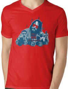Big lebowski Collage Mens V-Neck T-Shirt