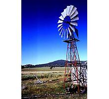 Windmill.  Photographic Print