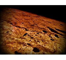 The Surface Of The Moon Photographic Print