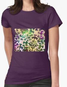 Flower and leaves design T-Shirt